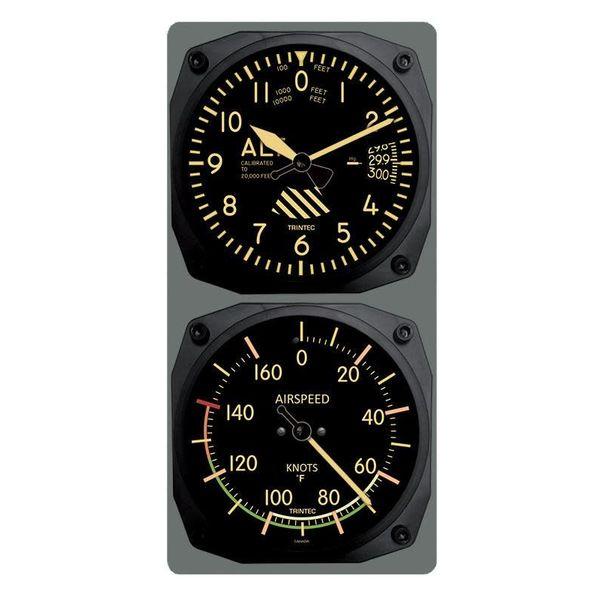 Trintec Industries Vintage Altimeter/Airspeed 0 Fahrenheit