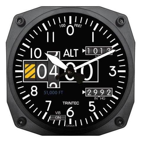 Modern Altimeter Clock