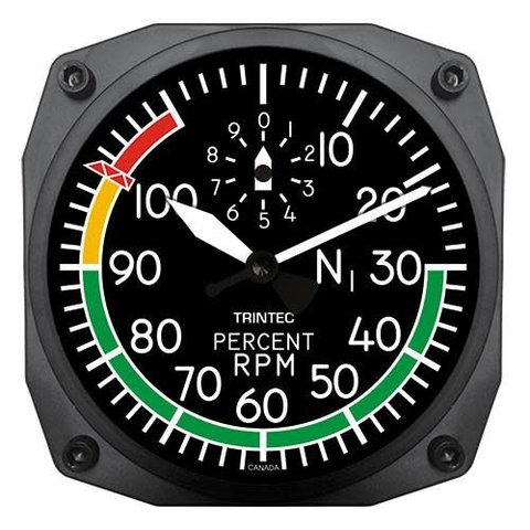 Modern RPM Clock