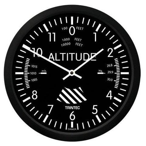 """Classic 10"""" Altimeter Clock"""