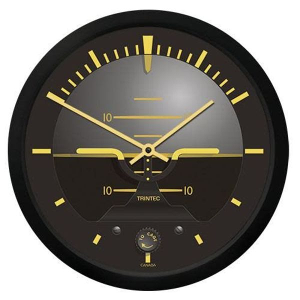 Trintec Industries Vintage Artificial Horizon Clock