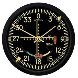 "Trintec Industries Vintage VOR 10"" Clock"