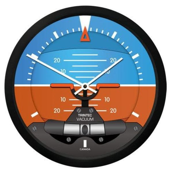 Trintec Industries Modern Artificial Horizon Clock
