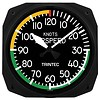 Airspeed Instrument Style Clock