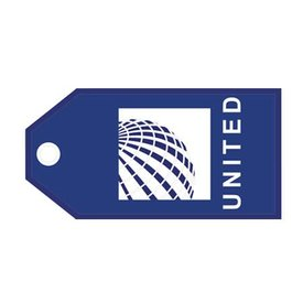 Luggage Tag United NC