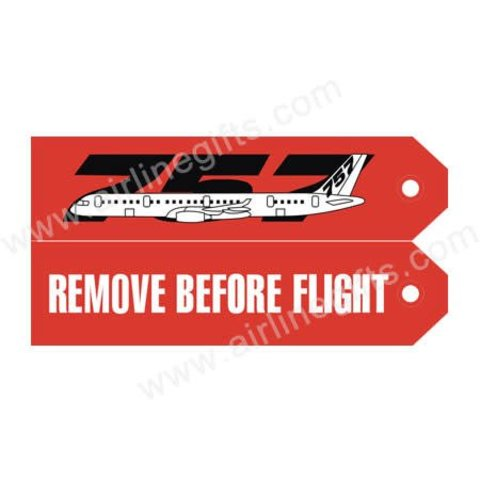 KEY CHAIN RBF 757 REMOVE BEFORE FLIGHT