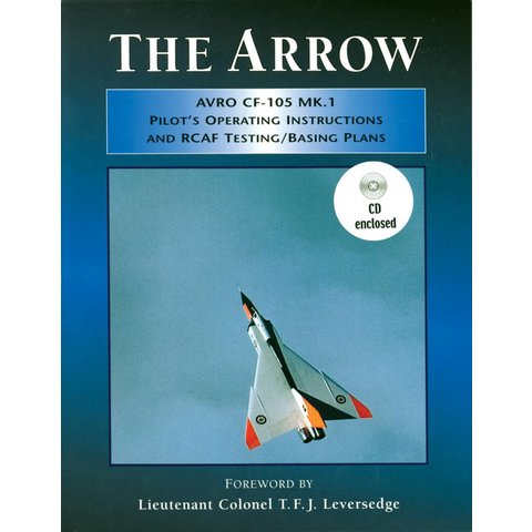 THE ARROW:AVRO CF105 MKI PILOT'S OP.INSTR.CD