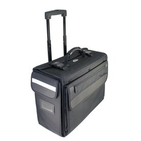 Crewgear Ballistic Nylon Rolling Flight Case On Wheels