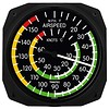 Classic Airspeed Instrument Style Thermometer