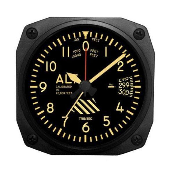 Trintec Industries Vintage Altimeter Alarm Clock