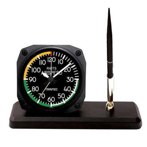 Modern Air Speed Indicator Desk Pen Set