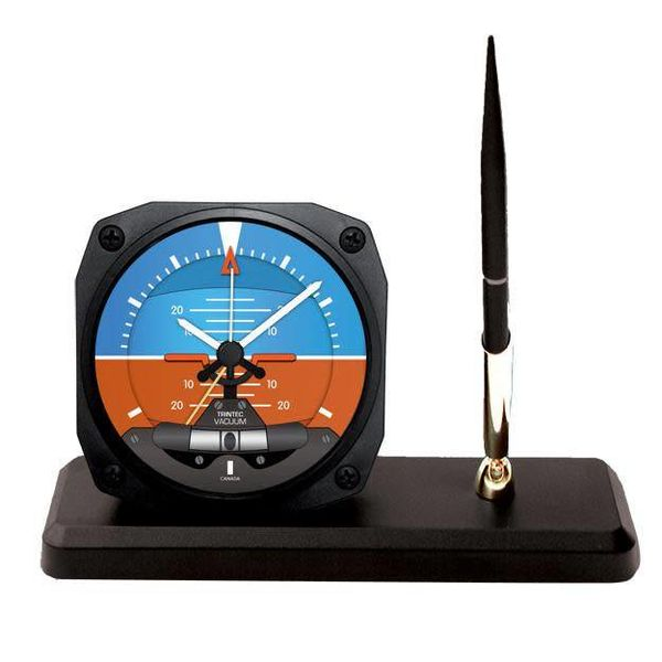 Trintec Industries 2060 Artificial Horizon Desk Pen Set