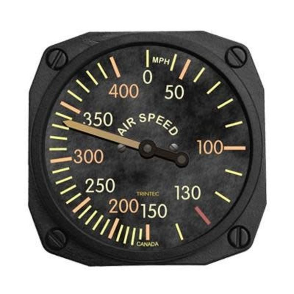 Trintec Industries Vintage Airspeed Indicator Fridge Magnet