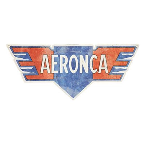 Sporty's Aeronca Metal Sign