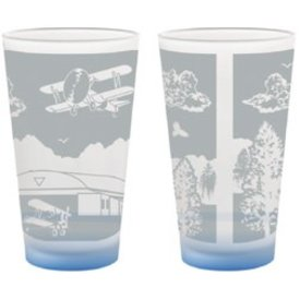 Biplane Pint Glass