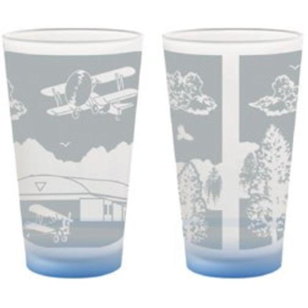 Biplane Pint Glass