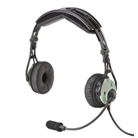 David Clark Pro-XA ENC headset Airbus Connection