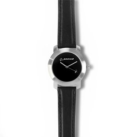 Boeing Store Silver Rotating Airplane Watch - Women's Sizing