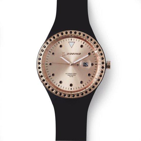 Boeing Rose Gold Accent Watch – Women