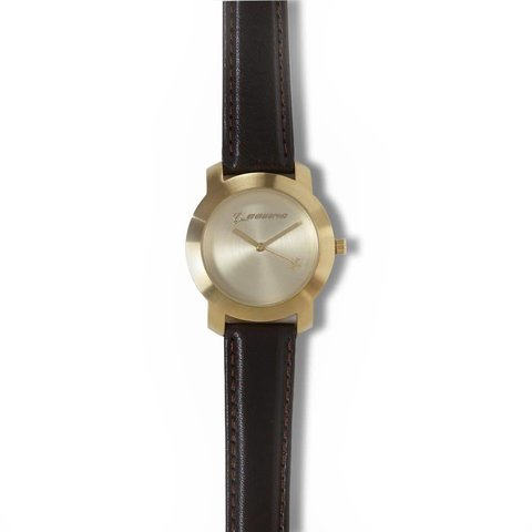 Gold Rotating Airplane Watch - Women's Sizing