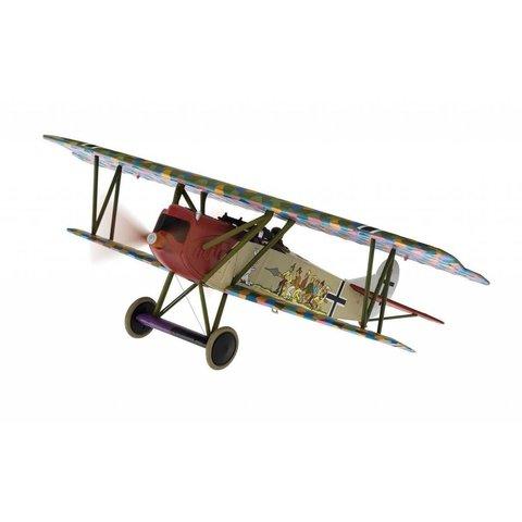 Fokker DVII Jasta 65 4649/18 Seven Swabians Wilhelm Scheutzel 1918 1:48 with stand