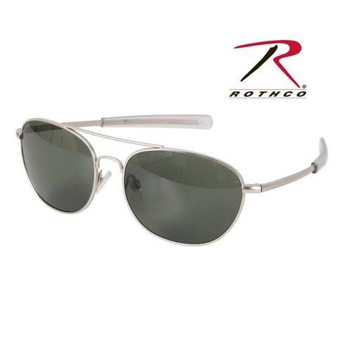 G.I. Type Aviator Sunglasses Black Smoke 58mm