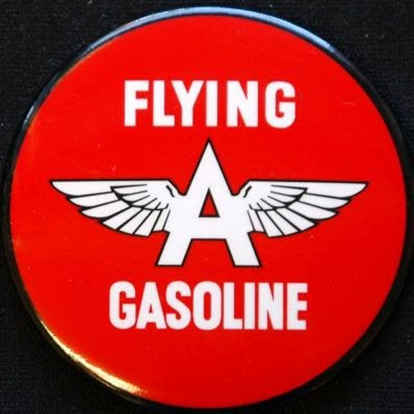 Magnet Flying A Gasoline