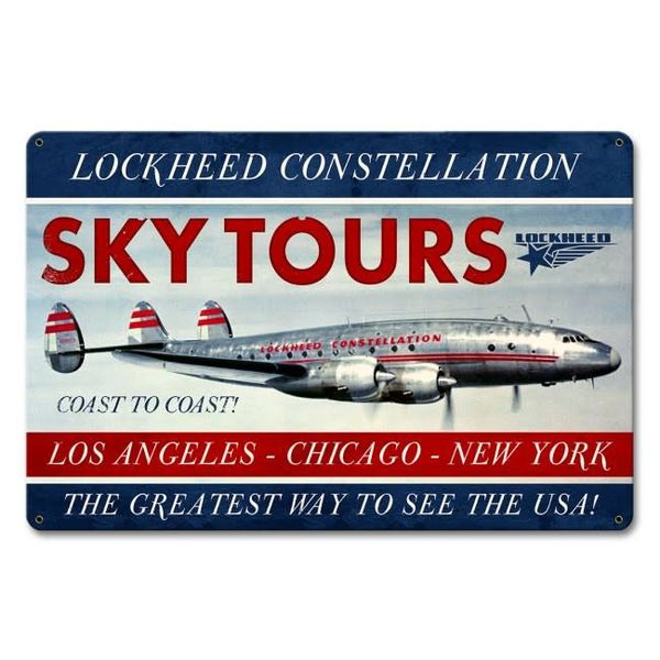 Constellation Sky Metal Sign