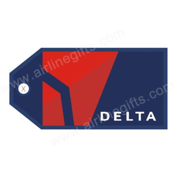 Luggage Tag Delta Airlines NC07
