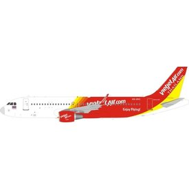 JFOX A320 Thai VietJet Air HS-VKC 1:200 With Stand