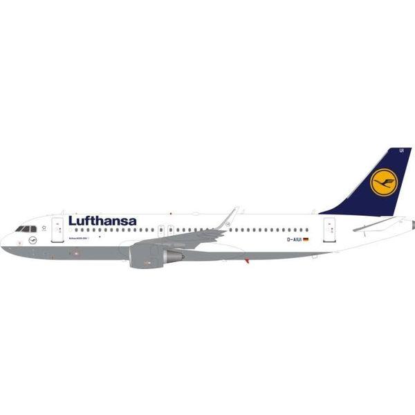 JFOX A320S Lufthansa D-AIUI sharkets 1:200 With Stand