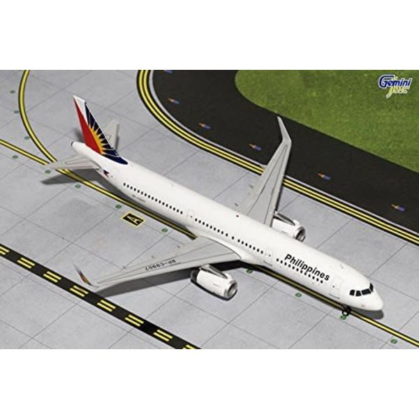 Gemini Jets A321 Philippines Airlines RP-C9907 1:200 with stand