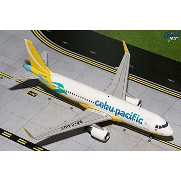 Gemini Jets A320S Cebu Pacific RP-C4107 1:200 with stand