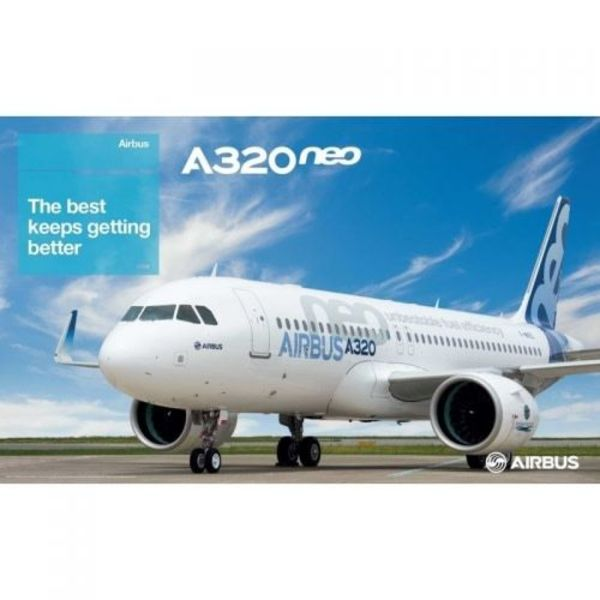 Airbus Poster A320neo Photo The Latest Keeps Getting Better