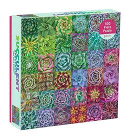 Puzzle: SUCCULENT SPECTRUM (500 pieces)