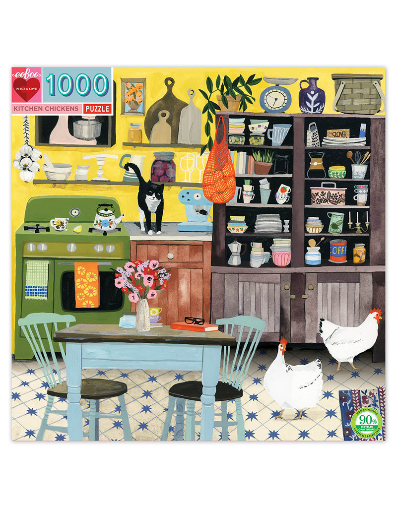 eeBoo KITCHEN CHICKENS (1000 pieces)