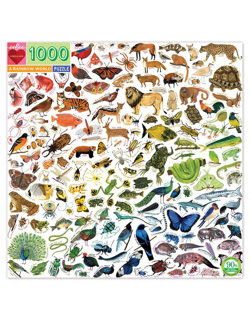 eeBoo RAINBOW WORLD (1000 pieces)