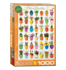 Eurographics Puzzle: CACTI & SUCCULENTS (1000 pieces)