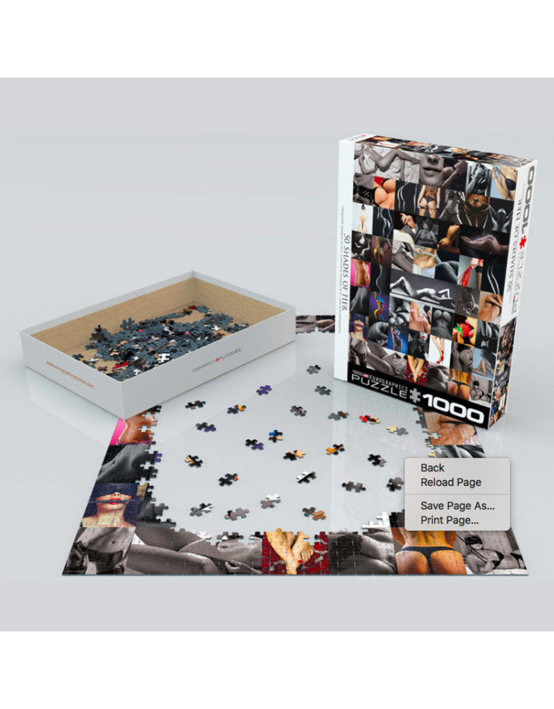 Eurographics 50 SHADES OF HER (1000 pieces)
