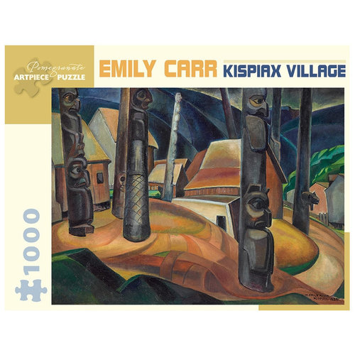 Pomegranate KISPIAX VILLAGE by Emily Carr (1000 pieces)