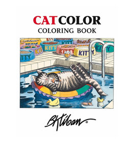 Pomegranate Coloring Book: KLIBAN CATCOLOR