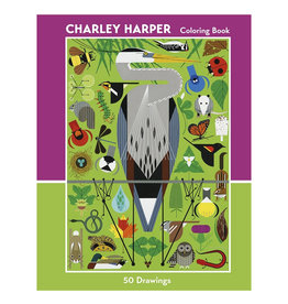 Pomegranate Coloring Book: CHARLEY HARPER 50 DRAWINGS