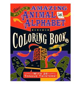 Pomegranate Coloring Book: AMAZING ANIMAL ALPHABET