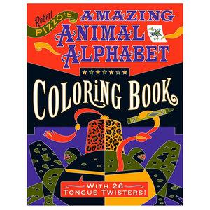Coloring Book: AMAZING ANIMAL ALPHABET