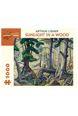 Pomegranate Puzzle: SUNLIGHT IN A WOOD by Arthur Lismore (1000 pieces)