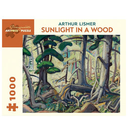 Pomegranate Puzzle: SUNLIGHT IN A WOOD (1000 pieces)