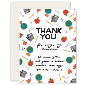 Greeting Card: TEACHER Thank You