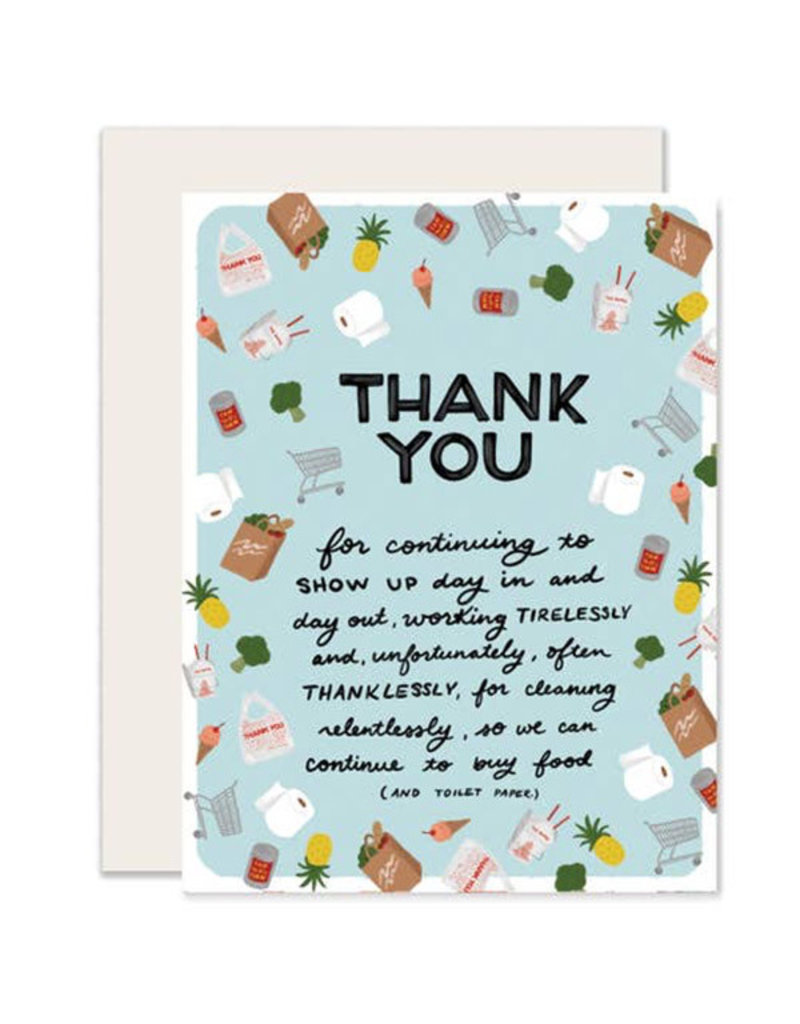 Slightly Thank You: GROCERY & TAKEOUT STAFFERS