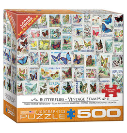 Eurographics Puzzle:BUTTERFLIES (500 pieces)