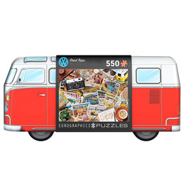 Eurographics Puzzle: VW BUS ROADTRIPS (550 pieces)